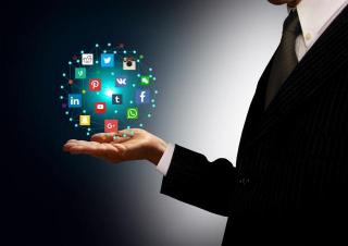 Social Media Hologram