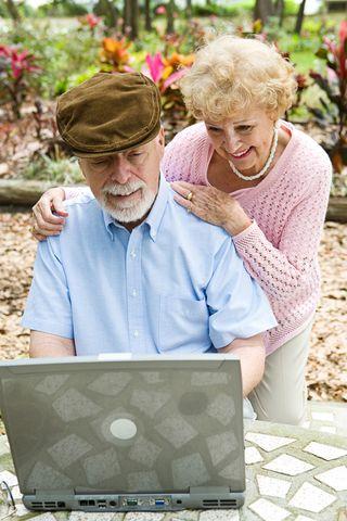Elderly Couple on PC