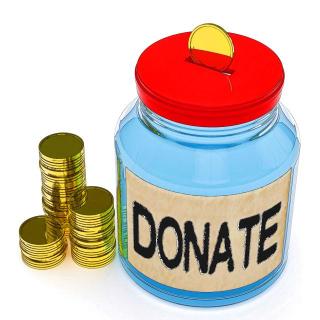 Donate jar