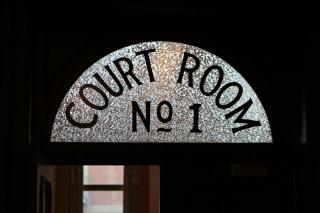 Courtroom Sign